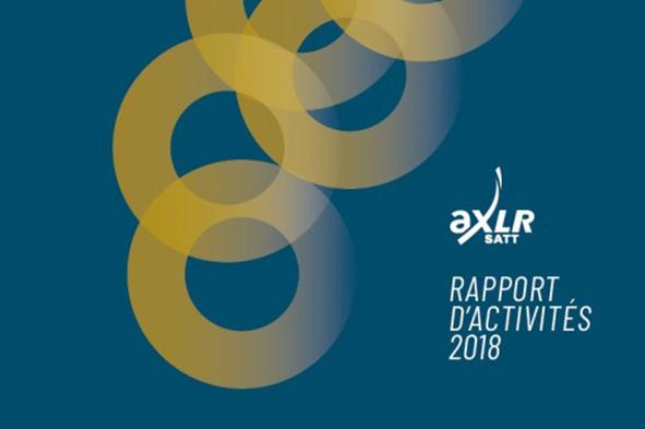 La SATT AxLR publie son rapport d'activités 2018